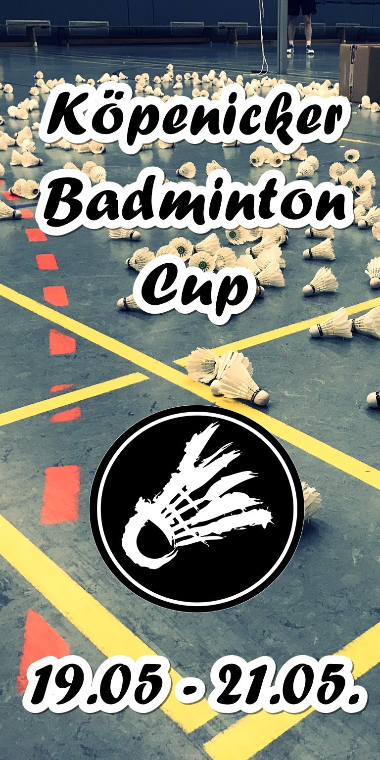 Badminton Turnier in Berlin