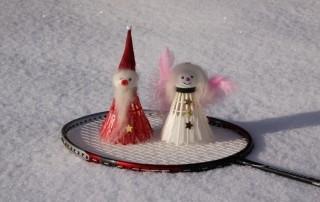 Badminton zu Weihnachten und Neijarh