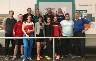 Badminton Training mit HW in 2018