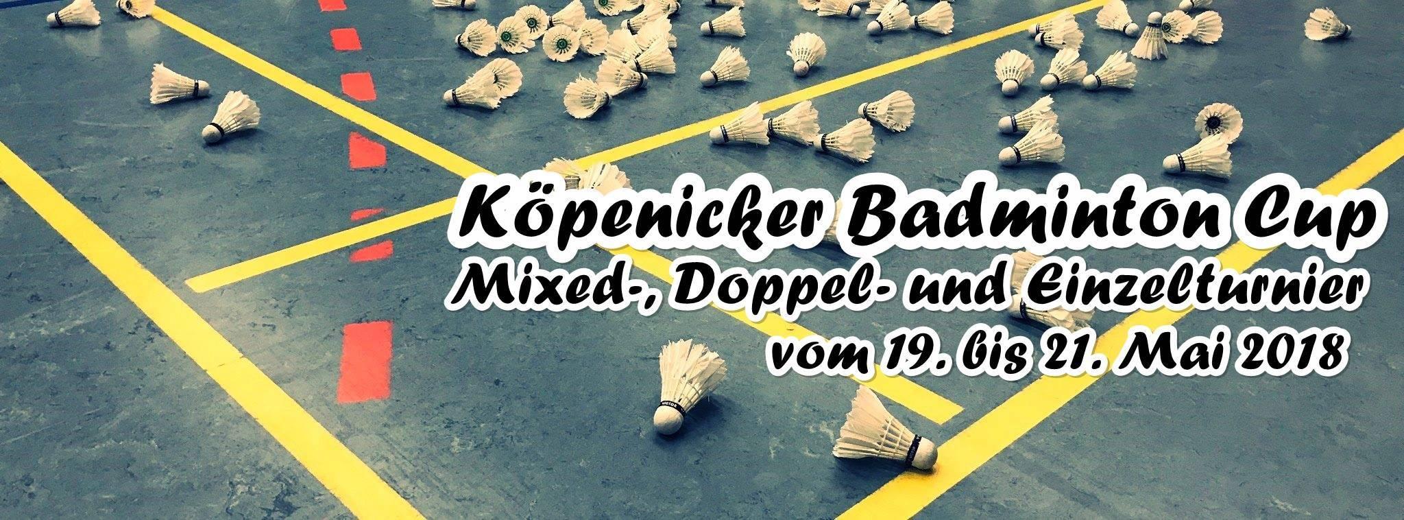 Köpenicker Badminton Cup 2018