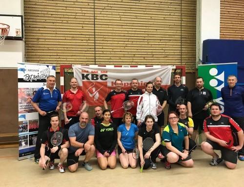 Einladung 3. Badminton Wochenend-Camp mit Hans Werner Niesner 26./27.5.
